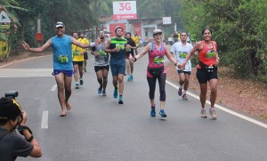 At the Goa marathon (Photo: courtesy Pervin)
