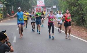 At the Goa marathon (Photo: courtesy Pervin)