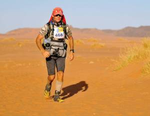 From Marathon Des Sables (Photo; courtesy Grant Maughan)