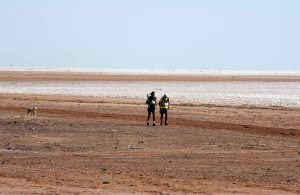 Running in the Rann of Kutch (Photo: courtesy Globeracers)