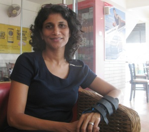 Kavitha Kanaparthi (Photo: Shyam G Menon)