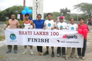 From one of the editions of Bhatti Lakes Ultra (Photo: courtesy Globeracers)