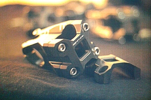 A bicycle component - a stem; part connecting the handlebar to the fork - made by Psynyde Bikes (Photo: courtesy Psynyde Bikes)