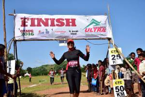 Arati at the Javadhu Ultra (Photo: courtesy the Gaikwads)