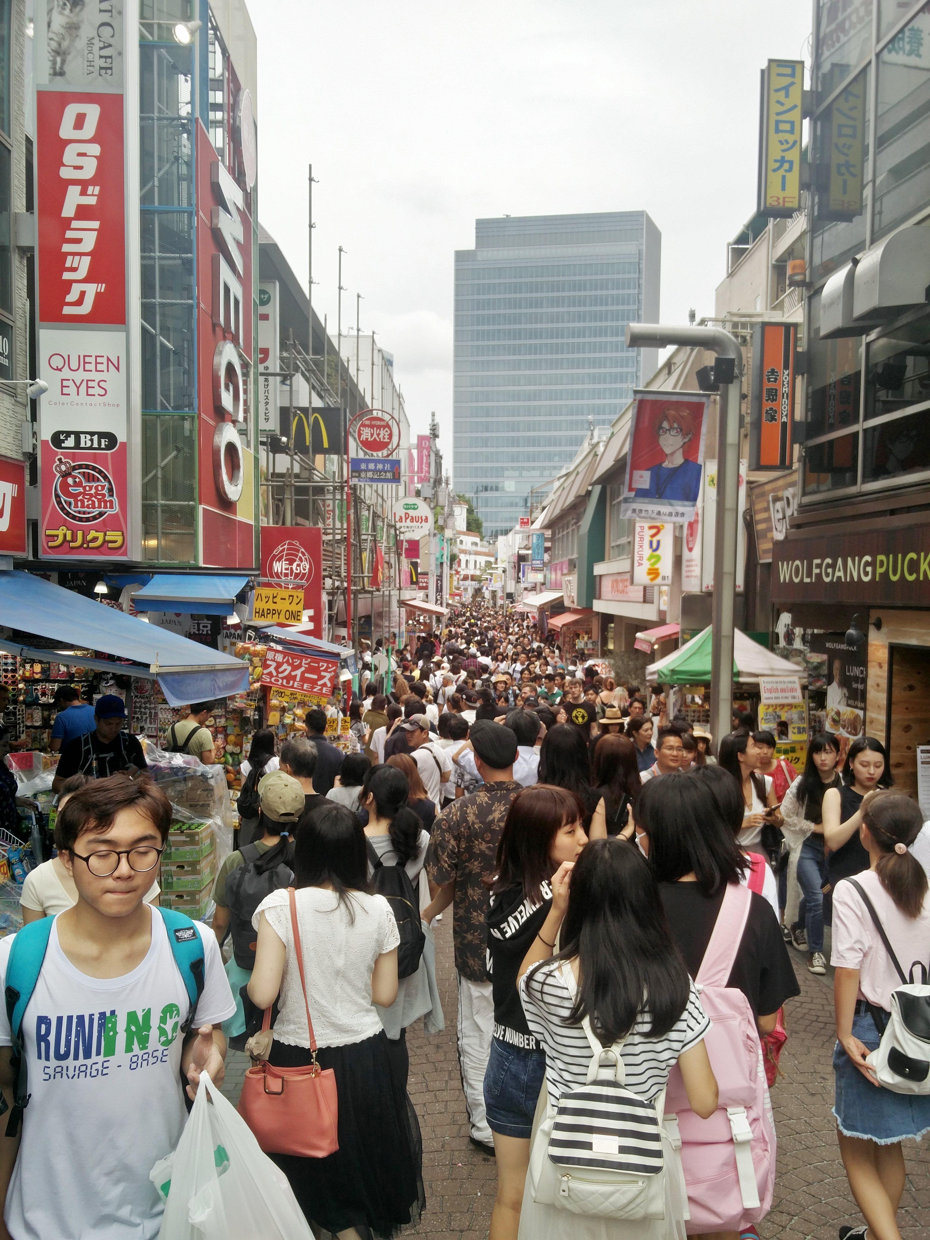 Scenes from Japan / Takeshita Street Market (Photo: Sastry Bhamidi)